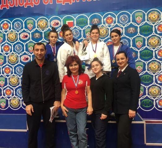 Победа студентки колледжа в г. Грозный в Чемпионате СКФО по дзюдо
