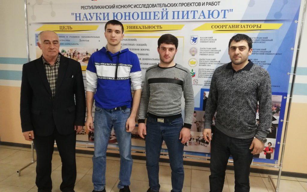 Участие в Республиканском фестивале науки, посвященном празднованию Дню Российской науки