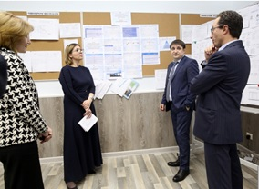 Участие в совещании в проектном офисе «Бережливое правительство» РД