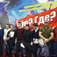 Студенты колледжа призеры чемпионата